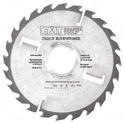 Серия 279 пилы для многопильных станков с подрезными ножами CMT Дисковые пилы Инструмент