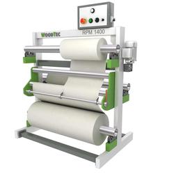 WoodTec RPM 1400 станок для резки рулонных материалов с перемоткой Woodtec Линии окутывания Для производства мебели