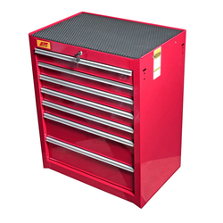 JTC 5640 Инструментальная тележка 7 секций JTC Мебель металлическая Сервисное оборудование
